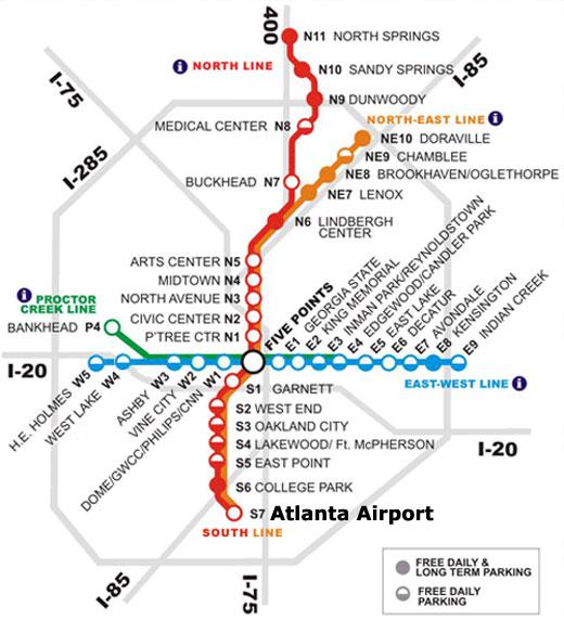 Atlanta Transit System